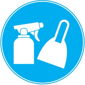Schoonmaak en gereedschap
